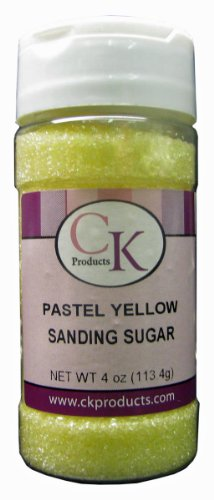 Turquoise Glitter Toms - CK Products 4 Ounce Sanding Sugar