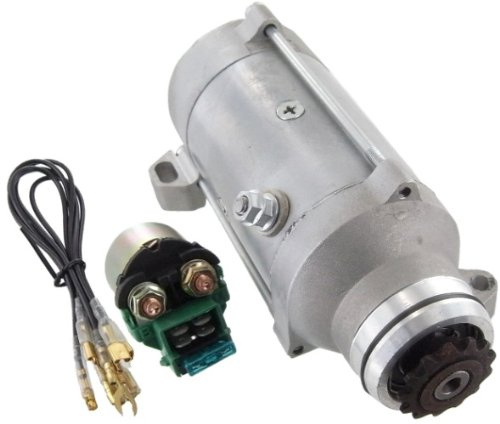 Interstate Honda Gl1100 - Discount Starter and Alternator NEW Starter & Solenoid Relay Fits Honda GL1100 Gold Wing GL1100A Aspencade GL1100I Interstate 1980-1983 Motorcycle