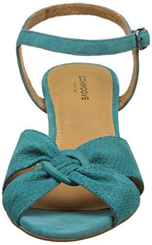 Schmoove Pegase Sandal, Scarpe Spuntate Donna Turquoise (Paon)