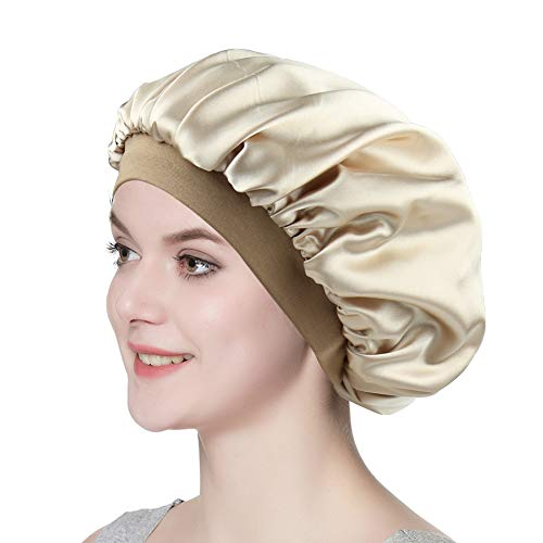 Satin Night Cap for Sleeping Chic Sleep Hair Wraps for Women