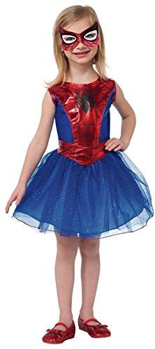 - 41ePpeWJyuL - Little Girls Spidergirl Costume – Small