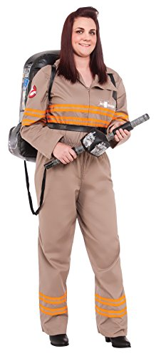 Rubie's Women's Ghostbusters Deluxe Outfit Movie Theme Halloween Plus Size Costume, Plus (16-22)