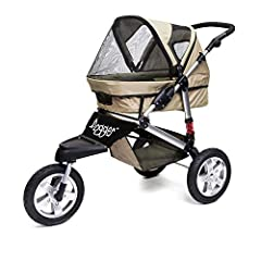 The Dogger stroller is unlike any of the other pet strollers on the market. We designed this folding pet stroller with senior dogs in mind, which is why it is absolutely the most comfortable ride for your dog available today. The Dogger is eq...