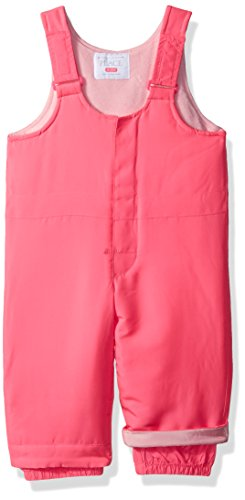 The Children's Place Baby Girls' Solid Snowsuit, Neon Berry, 12-18MOS