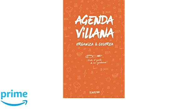 Agenda Villana: Organiza y Colorea (Spanish Edition ...