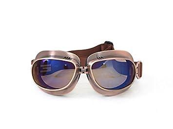 HUWQX Anti-Harley-Davidson Motorrad Schutzbrille Brille Brille, 3