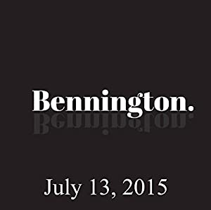 Bennington, Judd Apatow, July 13, 2015 Radio/TV Program