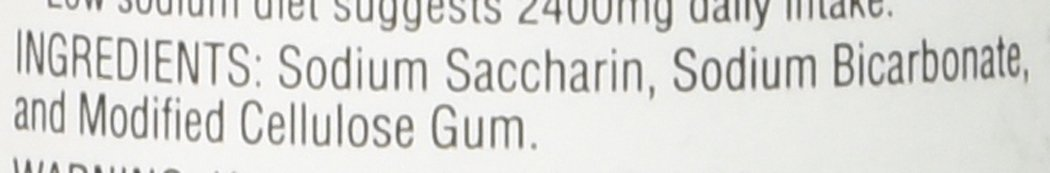 3 pack 1 grain 500 saccharin tablets by Necta Sweet (Image #3)