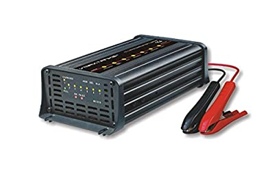 """VMAX 15Amp 7-Stage 12-Volt Microprocessor Controlled Fully Automatic """"Smart"""" Battery Charger/ Tender/ Maintainer for UB UPG SLA 12 Volt 50Ah-300Ah"""