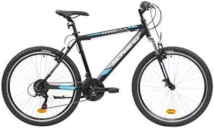 F.lli Schiano Range Bicicleta Montaña, Mens, Negro-Azul, 26 ...