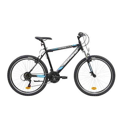 F.lli Schiano Range Bicicleta Montaña, Men's, Negro-Azul, 26'' a buen precio