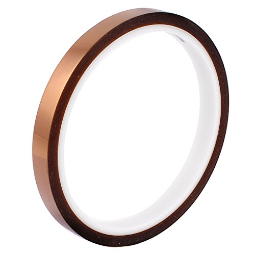 9mm 98ft High Temperature Heat Resistant Tape Polyimide BGA for cheap