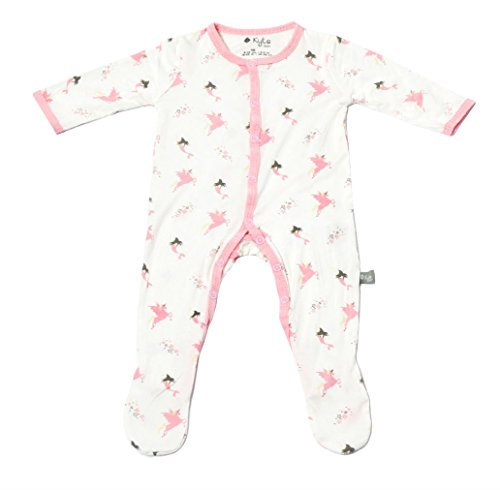 Kyte BABY Footies - Baby Footed Pajamas Made of Soft Organic Bamboo Rayon Material - 0-24 Months - Printed Colors (18-24 Months, Mythical) -