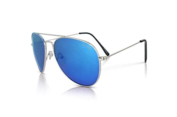 1a5ef6658d Image Unavailable. Image not available for. Color  Affordable Polarized  Sunglasses Blue Lens Fliers