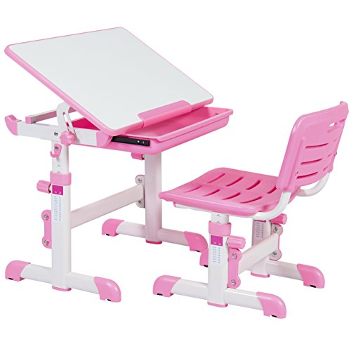 Best Choice Products Height Adjustable Children S Desk And
