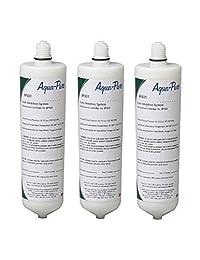 (Paquete de 3) 3 m Cuno Aqua-Pure ap431 calentador de agua escala Inhibidor Filtro