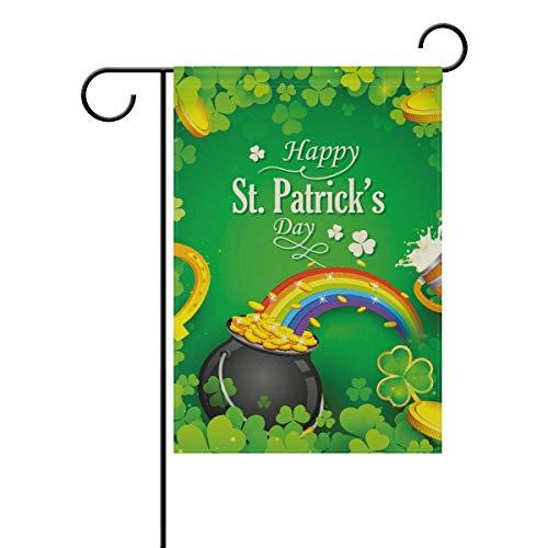 Buy st patricks day garden flag 12x18