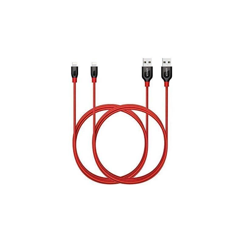 Anker [2-Pack] Powerline+ Lightning Cabl