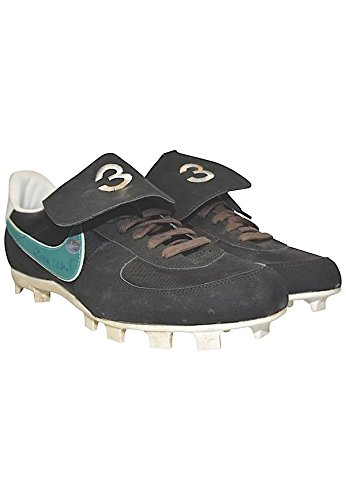 1998 Alex Rodriguez Autographed Game Used Seattle Mariners Cleats Shoes – JSA Certified + Psa