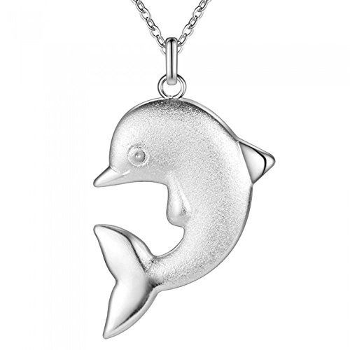 Collier dauphin argent 925
