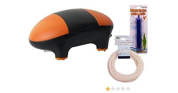 BPS (R Bomba Aire Oxigenador Compresor Incluye Manguera y difusor ...