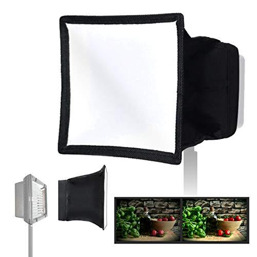 """جلیوس استودیو 6 """"x 6.7"""" (15x17cm) دیفیوزر نور قابل جمع شدن ، مینی جعبه سافت برای دوربین پانل نوری LED Video Camera، JSAG158"""