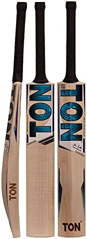 SS TON English Willow Cricket Bat (Free Extra Grip, Bat Cover Included) -Men's, 2019 Edi