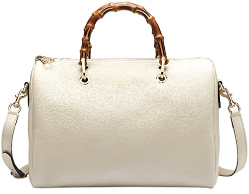 Gucci-White-Bamboo-Shopper-Leather-Tote-Bag