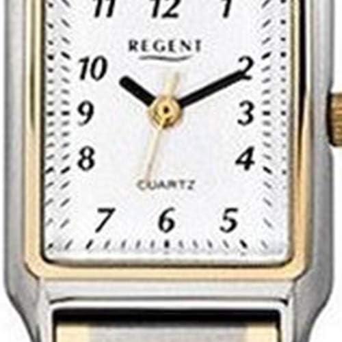 Regent dameshorloge F-460 metalen kwarts polshorloge metalen armband zilver goud URF460 Ztgy6pLV