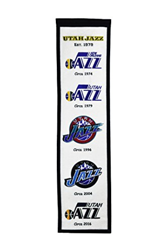 Winning Streak Sports NBA Utah Jazz Heritage Banner