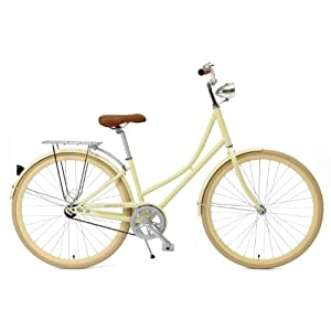 Critical Cycles Dutch Style Step Thru 1 Speed Hybrid Urban Commuter Road Bicycle