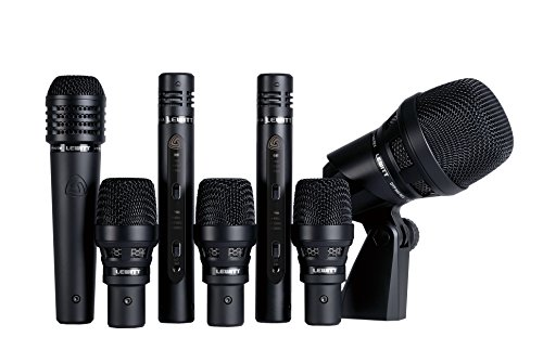 Lewitt DTP Beat Kit Pro 7 Reference Class Drum Microphone Kit, Cardioid Only (DTP-BEAT-KIT-PRO-7-CO)