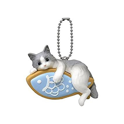 Amazon.com: Gashapon Neko Cafe 10 anicolla Series Iced ...