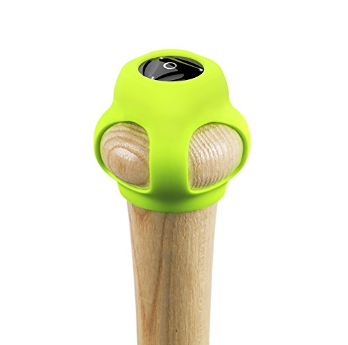 Coollang Baseball-POD Smart Baseball Swing Analyzer (Black) (Speed Analyzer Swing)