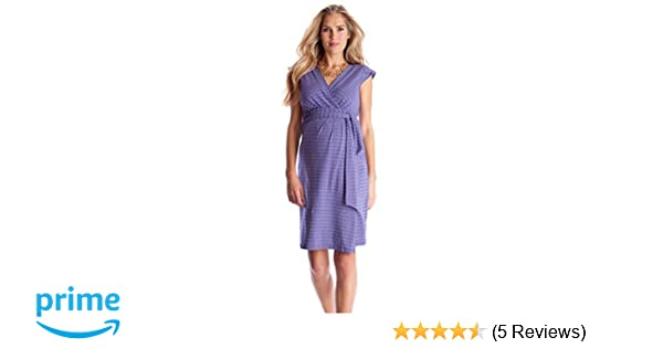 Seraphine Tanya Maternity Nursing Wrap Dress at Amazon Womens Clothing store: