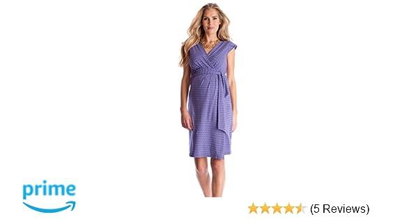 Seraphine Tanya Maternity Nursing Wrap Dress at Amazon Womens Clothing store: