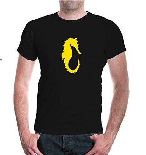 T-Shirt Seepony-XXXL-Black-Sunflower
