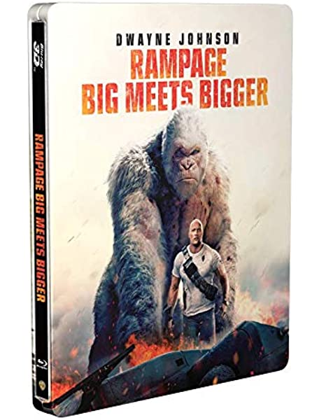 Rampage 3D Limited Edition Steelbook / Import / Includes 2D Blu ...