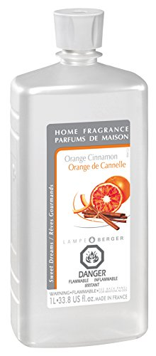 Lampe Berger Fragrance, 33.8 Fluid Ounce, Orange Cinnamon