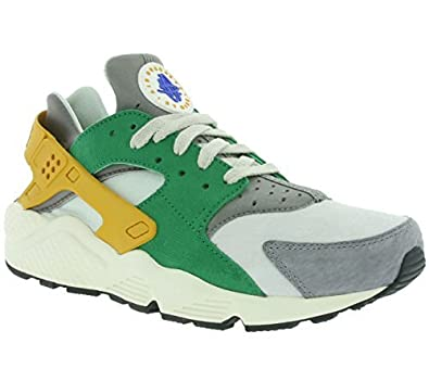 a866a9e44641a Nike Air Huarache Run SE Men Trainers Green 852628 300  Buy Online at Low  Prices in India - Amazon.in