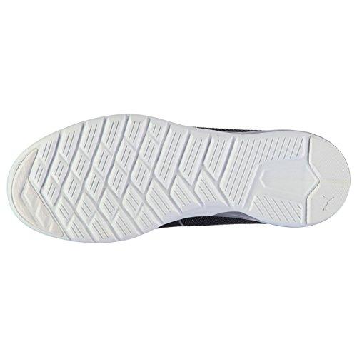 Puma Vigor Herren Laufschuhe Sportschuhe Turnschuhe Leicht Running Sneaker Schuhe Black/White 9.5 (43.5)