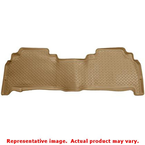 Husky Liners Custom Fit Second Seat Floor Liner for Select Lexus LX570/Toyota Land Cruiser Models (Tan)