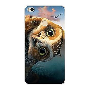 Aksuo Funda For Xiaomi Mi MAX 2 , TPU Anti-Rasguño Anti-Golpes Cover Protectora Transparente Claro TPU Caso Bumper Slim Silicona Case - Águila de ...