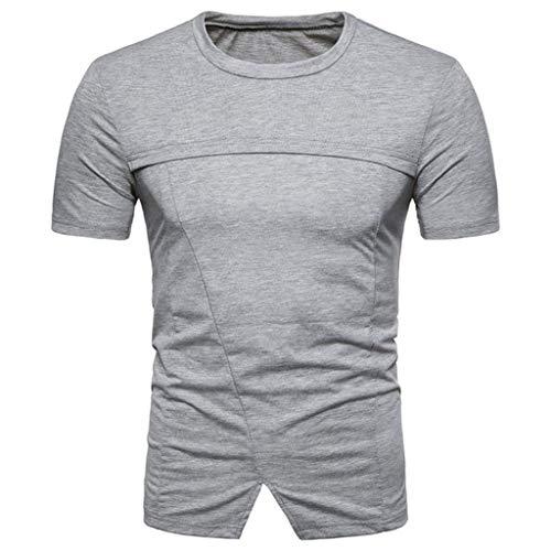 De Con Blusa Puntiaguda En Jersey S Para Rayas Dunkelgrau gris Modelos Top V Herrent Oscuro Hombre Cuello Ropa Casuales Camisa Verano Color Moda Camiseta Impresión Sólido zqa1wPxt1O