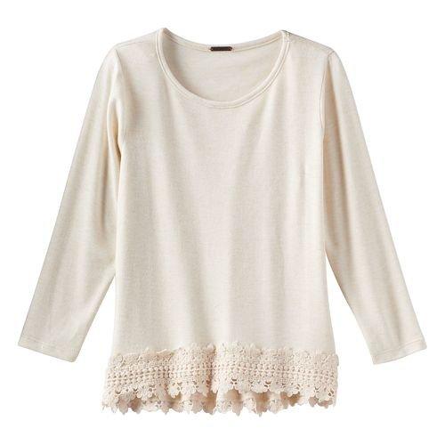Reflections Crochet - Poof Girl Crochet Trim Top