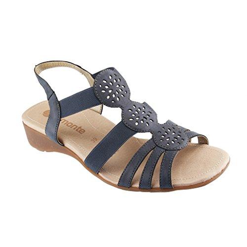 YQQ Zapatos bordados ópera china, lenguado del tendón, estilo étnico, femaleshoes, manera, cómodo , black , 40