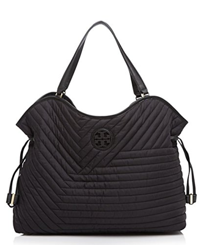 Tory Burch Quilted Nylon Slouchy Tote by Tory Burch
