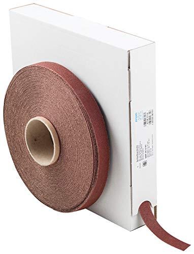 Aluminum Oxide 60 Grit 50 yd PFERD 47116 Heavy-Duty Abrasive Shop Roll Length x 1 Width