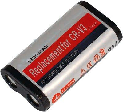Battery for Kodak CR-V3 CRV3 Olympus E-10 SP-350