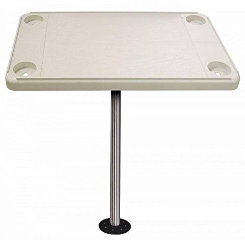 JIF Marine Rectangular Ivory Table KIT ()